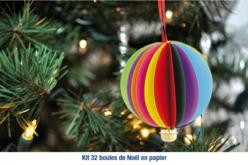 Kit boules de Noël