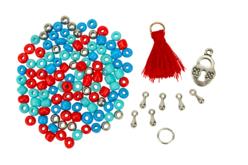 Double-bracelets indiens - Kit pour 3 bracelets - Bijoux, bracelets, colliers – 10doigts.fr - 2