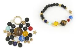 Kit bracelet Système solaire - Lithothérapie / Bracelets chakras – 10doigts.fr - 2