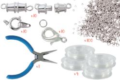 Kit fabrication de bijoux - Fermoirs – 10doigts.fr
