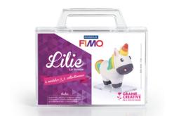 Kit Figurine Fimo Lilie la licorne