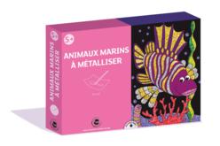 Kit foil art animaux de mer