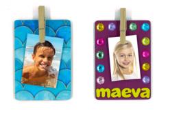 Magnets en bois - kit pour 12 réalisations - Kits activités sur bois – 10doigts.fr - 2