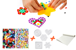Perles à repasser - Kit complet pour activité - Kits activités clés en main – 10doigts.fr