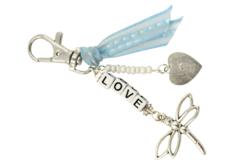 """Kit pour fabriquer un porte-clés """"LOVE"""" - Bijoux, bracelets, colliers – 10doigts.fr"""