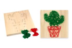 kit string art cactus