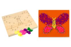 kit string art papillon