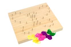 String Art - Kit Papillon - String Art – 10doigts.fr - 2