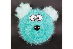 Fil à crocheter pour éponge - 8 pelotes assorties - Laine – 10doigts.fr - 2