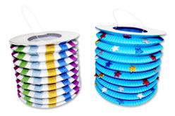 Lampions en papier - Set de 30 - Mardi gras, carnaval – 10doigts.fr - 2