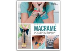 Livre : Macramé pas à pas - Livres Bijoux – 10doigts.fr