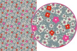 Magic Paper auto-adhésif Fleurs liberty n°2