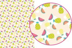 Magic Paper auto-adhésif Fruits exotiques
