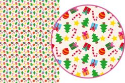 Magic Paper auto-adhésif Noël