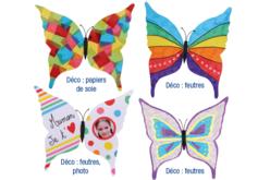 Magnets papillon - Lot de 6 - Supports blancs – 10doigts.fr - 2