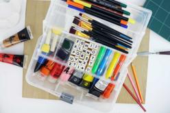 Boîte de rangement en plastique - Palettes et rangements – 10doigts.fr - 2