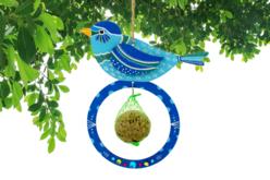 Mangeoires pour oiseaux + boules de graisse - Lot de 6 - Kits activités Nature – 10doigts.fr - 2