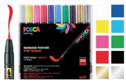 Marqueurs POSCA - Pointes pinceaux - Feutres d'écriture – 10doigts.fr - 2