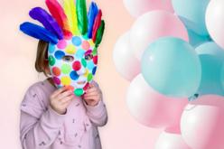 Masque blanc à décorer - Taille enfant ou adulte au choix - Mardi gras, carnaval – 10doigts.fr - 2
