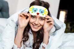 Masque de sommeil à décorer - Coton, lin – 10doigts.fr - 2