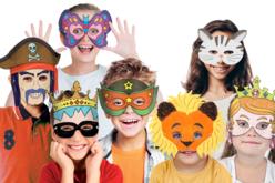 Masques pré-dessinés à colorier - Mardi gras, carnaval – 10doigts.fr