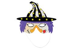 Masques à colorier Halloween - Set de 4 - Masques – 10doigts.fr - 2