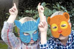 Masques animaux à décorer - Set de 12 - Mardi gras, carnaval – 10doigts.fr - 2
