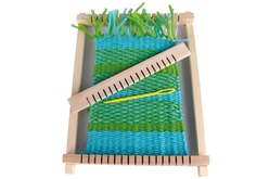 Métier à tisser en bois - Kits Mercerie – 10doigts.fr - 2