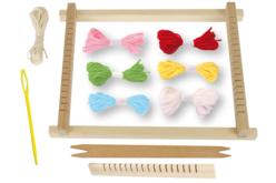 Métier à tisser en bois - Kits Mercerie – 10doigts.fr