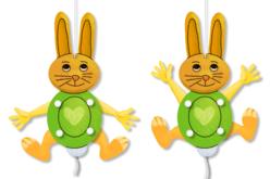Mobile lapin articulé - Kits activités Pâques – 10doigts.fr