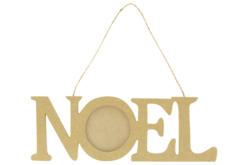 Cadre NOEL à suspendre - Décorations de Noël en bois – 10doigts.fr - 2