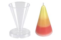 Moule bougie cône - Moules pour bougies – 10doigts.fr
