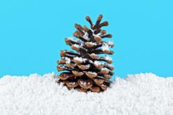 Poudre de neige décorative extra fine - Nouveautés de Noël 2021 – 10doigts.fr - 2