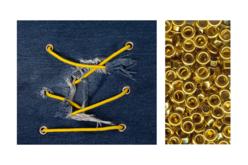 Œillets en métal assortis - Set de 200 - Attaches parisiennes et oeillets – 10doigts.fr - 2