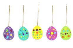 Kit création œufs de pâques - 90 suspensions - Kits activités de Pâques – 10doigts.fr - 2