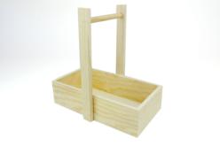 Panier droit en bois - Cuisine et vaisselle – 10doigts.fr
