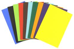 Papier affiche 51 x 76 cm - 50 feuilles vives - Papier affiche – 10doigts.fr
