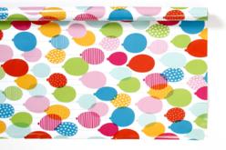 Papier cadeau ballons - 4 mètres - Papiers Cadeaux – 10doigts.fr - 2