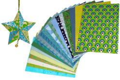 Papiers Indiens,Collection Kerala - 20 feuilles artisanales - Papier artisanal naturel – 10doigts.fr
