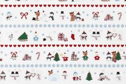 Papier cadeau noël polaire - 4 mètres - Papiers Cadeaux – 10doigts.fr