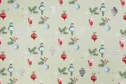 Papier cadeau Noël - Rouleau de 2 mètres - Sacs et Papiers cadeaux – 10doigts.fr