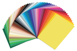 Cartes multicolores 25 x 35 cm - Lot de 50 - Kirigami – 10doigts.fr