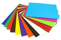 papier de soie 26 feuilles couleurs vives