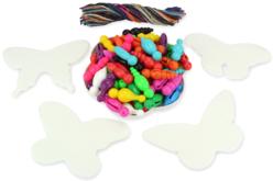 Kit créatif pour fabriquer 75 papillons - Kits activités Nature – 10doigts.fr - 2