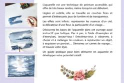 Livre : Aquarelle je me lance - Livres Peinture et Dessin – 10doigts.fr - 2