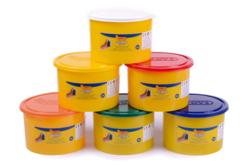 Pâtes à modeler (dès 2 ans) - 6 pots de 460 gr - Pâtes à modeler non durcissantes à l'air  – 10doigts.fr - 2