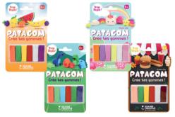 Pâtes à modeler PATAGOM - 6 couleurs - Patagom – 10doigts.fr