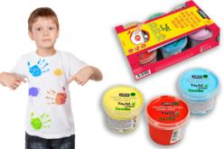 Peinture aux doigts pour tissus - Couleurs aux choix - Peinture gouache aux doigts – 10doigts.fr