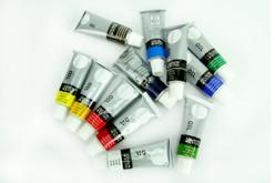 Peinture à l'huile - 12 couleurs - Peinture à l'huile – 10doigts.fr - 2