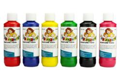 Peinture textiles, couleurs classiques ou nacrées - 250 ml - Peinture Tissu – 10doigts.fr - 2